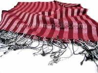 Silk Cashmere Stole - (ds Ft 10 Ga)