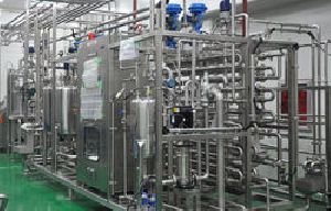 Stainless Steel Milk Pasteurization Plant