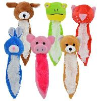 Skinny Plush Animal Dog Toys