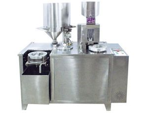 Semi Automatic Capsule Filling Machine With Line
