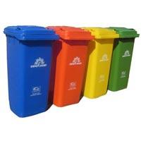 Unbreakable High Impact Garbage Bin