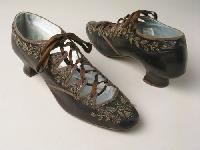 Beaded Embroidery Shoes