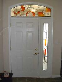 Entryway Glass Painting
