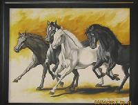 Horse Oil Painting