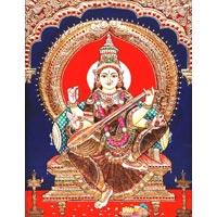 Saraswathi Painting