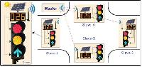 Solar Wireless Traffic Light Control System