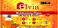 Honey & Almond Wipes
