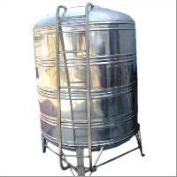 stainless steels water storage tank