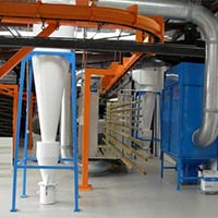 Installation Of Powder Coating Plant