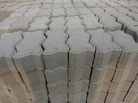 interlocking concrete paver block