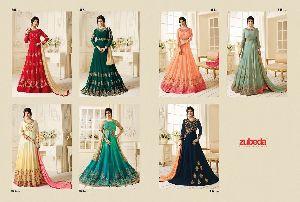 Posh Collection - Georgette Kali Salwar Suit