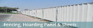 Fencing panel sheet
