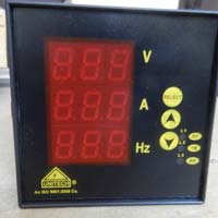 volt ampere frequency meter
