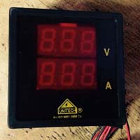 Volt Ampere Single Display Meter