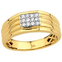 Gents Gold and Diamond Rings