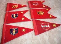 Military Car Flags
