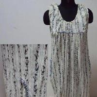 Printed Balloon Dress