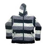 Woolen Hooded Jacket