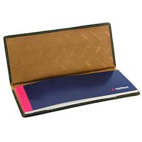 Leather Cheque Book Holder