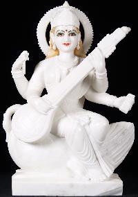 Lakshmi Marble Stone Statue