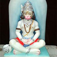 Marble Hanuman Statu
