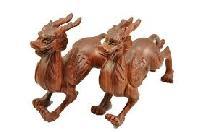 Red Sandal Wood Toys