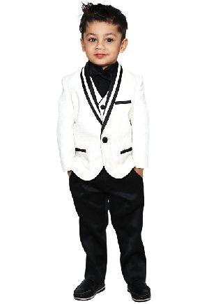 5 Pieces Baby Boy Formal Tuxedo Suit