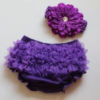 Soft Ruffle Diaper Cover