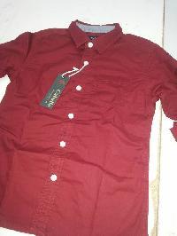 Boys shirt with plain color
