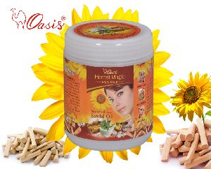 Herbal Magic Sandal Oil Face Pack