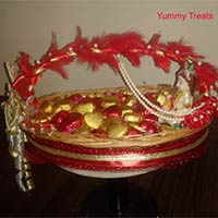 Krishna Theme Basket