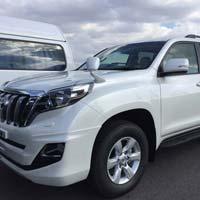 Automobiles Toyota Landcruiser Prado 2016