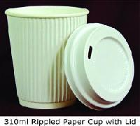 Ripple Disposable Paper Cups