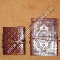Handmade Paper Leather Diaries