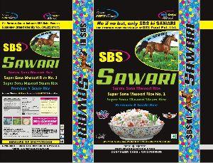 25 Kg Sbs Ki Swari Sortax Masoori Rice