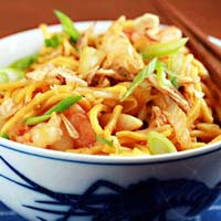 Egg Malaysian Noodles