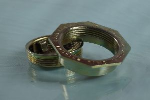 50 mm flange & Bungs set  with Gold chromium passivation