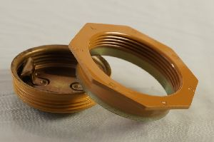 50 mm flange & bungs set with Lacquer coating