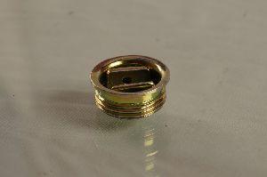 Gold chromium passivation