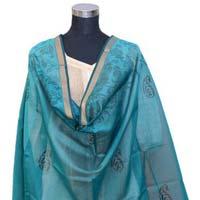Printed Maheshwari Silk Dupatta (design No. D0005)