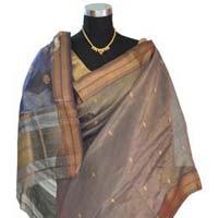Tissue Maheshwari Silk Saree (design No. S0014)