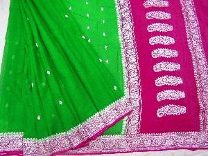 Banaras Chiffon Silk Saree