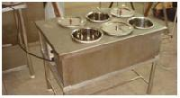 Six Container Bain Marie
