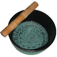 Buddhist Singing Bowl Tibetan Singing Bowl - A4436
