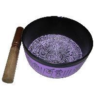 Tibetan Singing Bowl Om Chanting Bowl - A1569