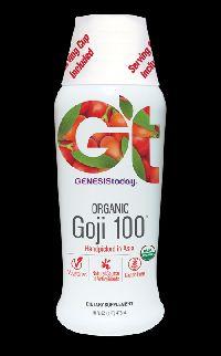 Organic Goji 100 (16 Oz)