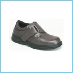 Mobility Medical Equipment Llc Strap Shoe Brown Leather