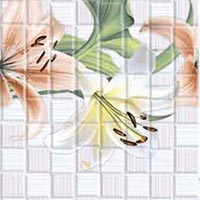 Printed Flower Wall Tiles