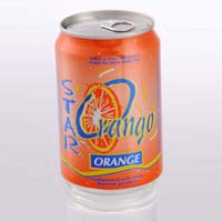 Orange Carbonated Soft Drink