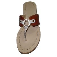 Ladies Leather Slipper